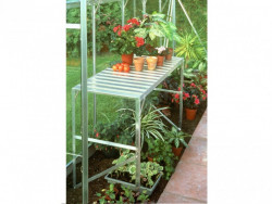 Regál do skleníku VITAVIA 120x52 cm 1 police stříbrný