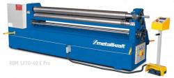 METALLKRAFT RBM 1270-40 E PRO Elektr. zakružovačka plechu 127cm