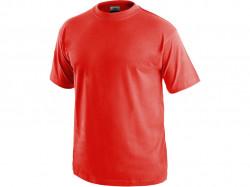 Tričko DANIEL krátký rukáv, bavlna, červené