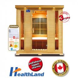 DeLuxe 4004 Carbon infrasauna HEALTHLAND AKCE