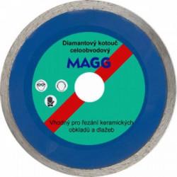 Diamantový kotouč 125mm MAGG plný
