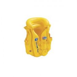 Vesta plavecká INTEX DELUXE SCHOOL, věk 3-6 let, žlutá