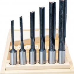Dlabací vrtáky 6-16mm pravotočivé HOLZMANN LL6TLGR