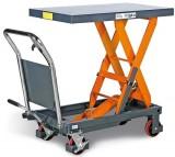 Zvedací stùl pojízdný nosnost 500kg FHT 500