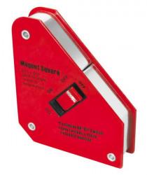 Magnetický úhelník s vypínačem 130x152mm 24kg