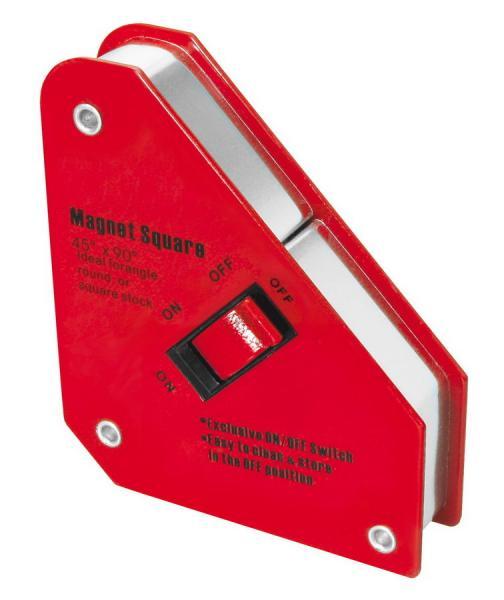 Magnetický úhelník s vypínačem 130x152x28mm