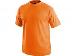 Tričko DANIEL krátký rukáv, bavlna, oranžové