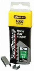 STANLEY Spony HD typ G délka 8mm 1000ks