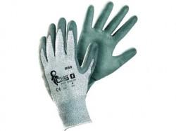 CITA II Protipořezové rukavice šedé 1 pár - PRODEJ PO 12 párech
