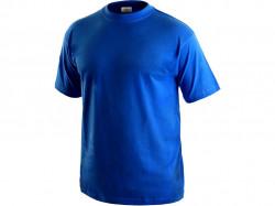 Tričko DANIEL krátký rukáv, bavlna, středně modré