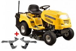 RIWALL PRO RLT 92 H POWER KIT traktor s zadním výhozem+ náhr. NOŽE