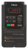 Frekvenèní mìniè 0,75kW TECO L510-201-SH1F-P 1x230V