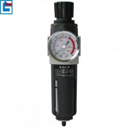 """Redukční ventil vzduchový s filtrem 1/4"""" Güde"""