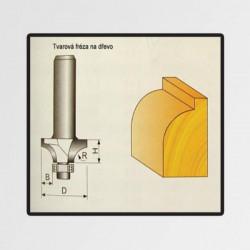 Tvarové frézy do dřeva 15,9x15,9x8mm STAVTOOL P70718