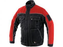 Blůza CXS ORION OTAKAR, zimní pánská černo-červená