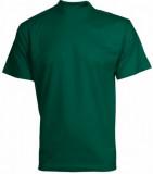 Trièko DANIEL krátký rukáv, bavlna, zelené, vel. M VÝPRODEJ