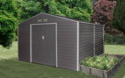 GAH 1085 ŠEDÝ zahradní domek 340x319cm