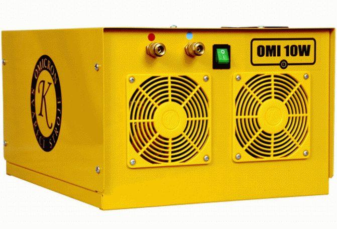 Vodní chlazení OMI 10W pro svářecí hořáky