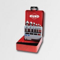 Sada záhlubníků RUKO 6,3-20,5mm 6 dílů RU102152