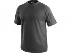 Tričko DANIEL krátký rukáv, bavlna, zinkové