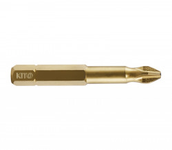 Bit PH 1x50mm, S2/TiN, 10ks Shark KITO