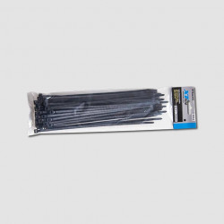 200x3,6mm èerné stahovací pásky 50ks XTline