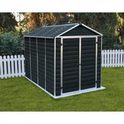 Skylight 6x10 antracit zahradní domek 305x185cm