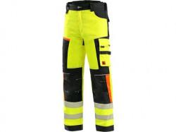 Kalhoty CXS BENSON výstražné, pánské, žluto-èerné