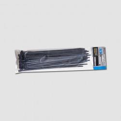 250x3,6mm èerné stahovací pásky 50ks XTline