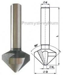 Záhlubník 8x90 mm kuželový 221625