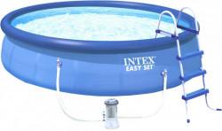 Bazén 457x122cm Easy + FILTRACE, ŽEBŘÍK, PLACHTA