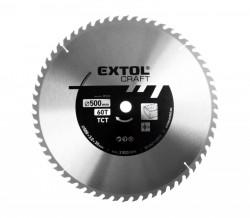 500 x 30/25,4 mm 60zubů Pilový kotouč SK plátky EXTOL