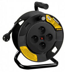 Kabel prodlužovací na cívce 25m prùøez 1,5mm2 PROTECO