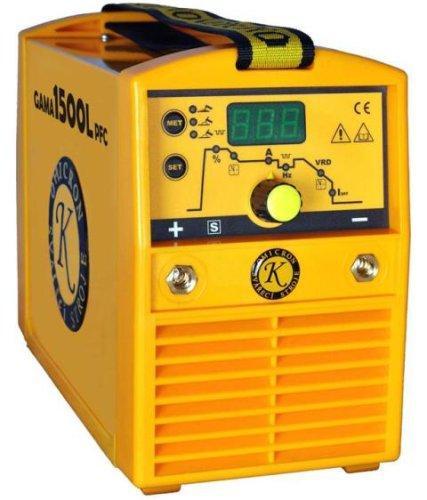 GAMA 1500L PFC svářecí invertor, kukla, kabely
