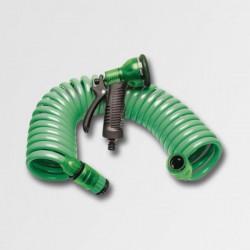 Spirálová hadice 15m s rozstřikovačem 45301