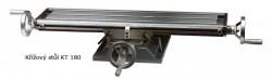 Křížový stůl OPTIMUM KT 179, stůl 500x180 mm