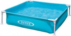 MINI skládací bazén modrý Intex 122x122x30cm