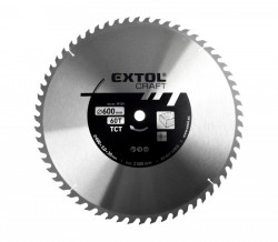 600x30/25,4 mm 60zubů Pilový kotouč s SK plátky EXTOL