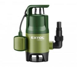 EXTOL 414122 čerpadlo na znečištěnou vodu 400W 7500l/hod