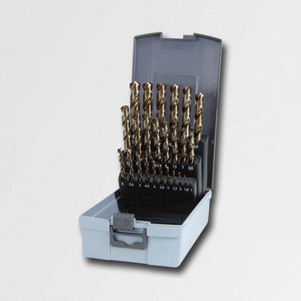 RUKO RUA215215 Sada vrtáků HSS-G CO do kovu 1-13mm 25ks