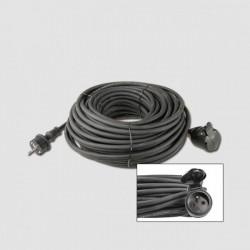 Prodluž. kabel guma EMOS 1 zás. 230V/10m KL29210