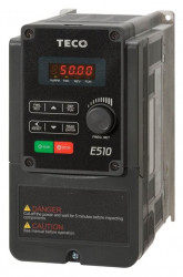 Frekvenèní mìniè 0,4kW TECO E510-2P5-H1F 1x230V