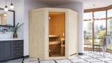KARIBU FAURIN finská sauna vnitøní 1,7x1,51m bez topidla