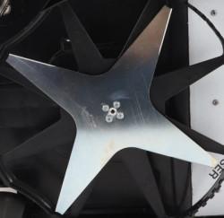 Hvìzdicový nùž pro robotické sekaèky ZCS TECH line pr. 25cm