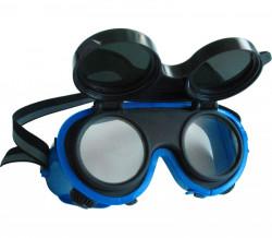 Brýle sváøeèské, odklápìcí kruhové zorníky tøídy F