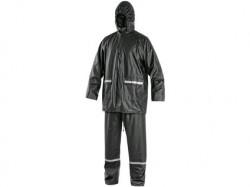 Oblek CXS PU nepromokavý antracitový