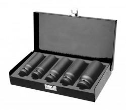 """Hlavice pro utahováky 17-19-21-24-27mm 1/2"""" FORTUM"""