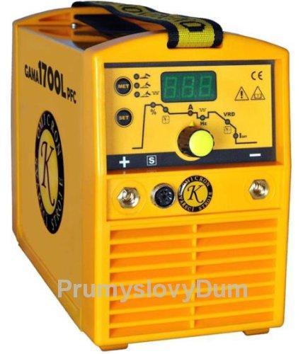 GAMA 1700L PFC svářecí invertor, kukla, kabely
