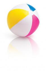 Nafukovací plážový míč barevný, prům. 61cm