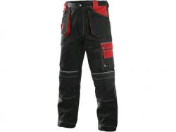 Kalhoty CXS ORION TEODOR, zimní, pánské, černo-červené